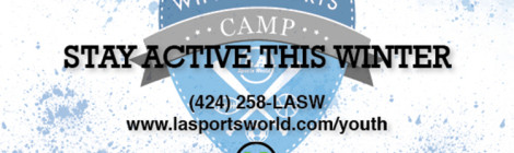 Save The Date: Winter Camp 2016 / Jan 25-29